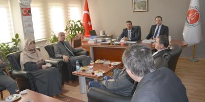 AK Parti Kırıkkale İl Başkanlığı Baromuzu Ziyaret Etti