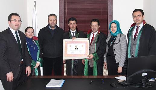 Avukat Mir Metin CANLI'ya Avukatlık Ruhsatnamesi Verilmesi Hakkında