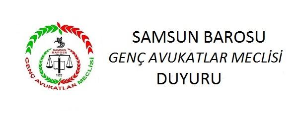 SAMSUN BAROSU GENÇ AVUKATLAR MECLİSİ