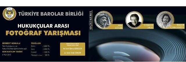 Türkiye Barolar Birliği Hukukçular Arası Fotoğraf Yarışması 2015