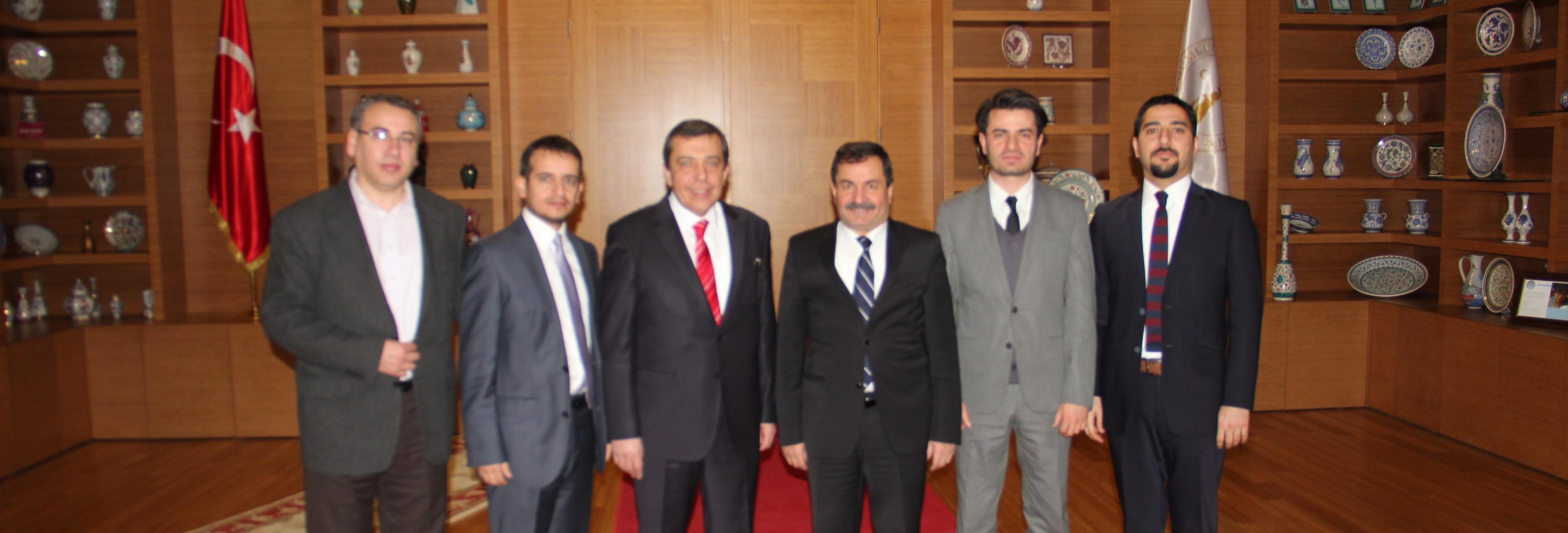 DPÜ REKTÖRÜ SAYIN PROF.DR. AHMET KARAASLAN ZİYARETİ