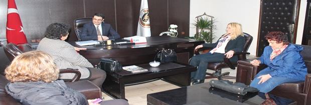 CHP PM Üyeleri CHP Batman İl Başkanı Baromuzu ziyaret ettiler.