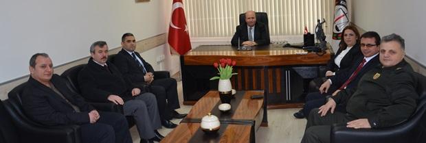 Baro Başkanımız Avukat Harun SAYGILI makamında ziyaret edilmiştir.
