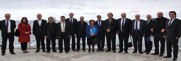 Karadeniz Bölgesi Baro Başkanları toplantısı
