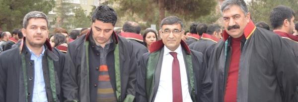 Barolar Diyarbakır'da Yürüdü.