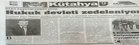 BARO BAŞKANIMIZ Av. Ahmet ATAM