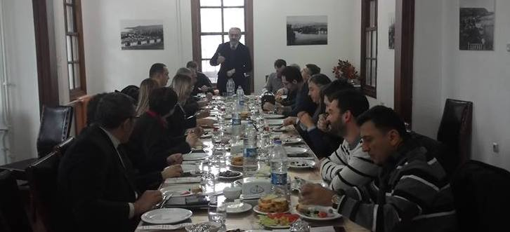Staj eğitmenleri toplantısı yapıldı
