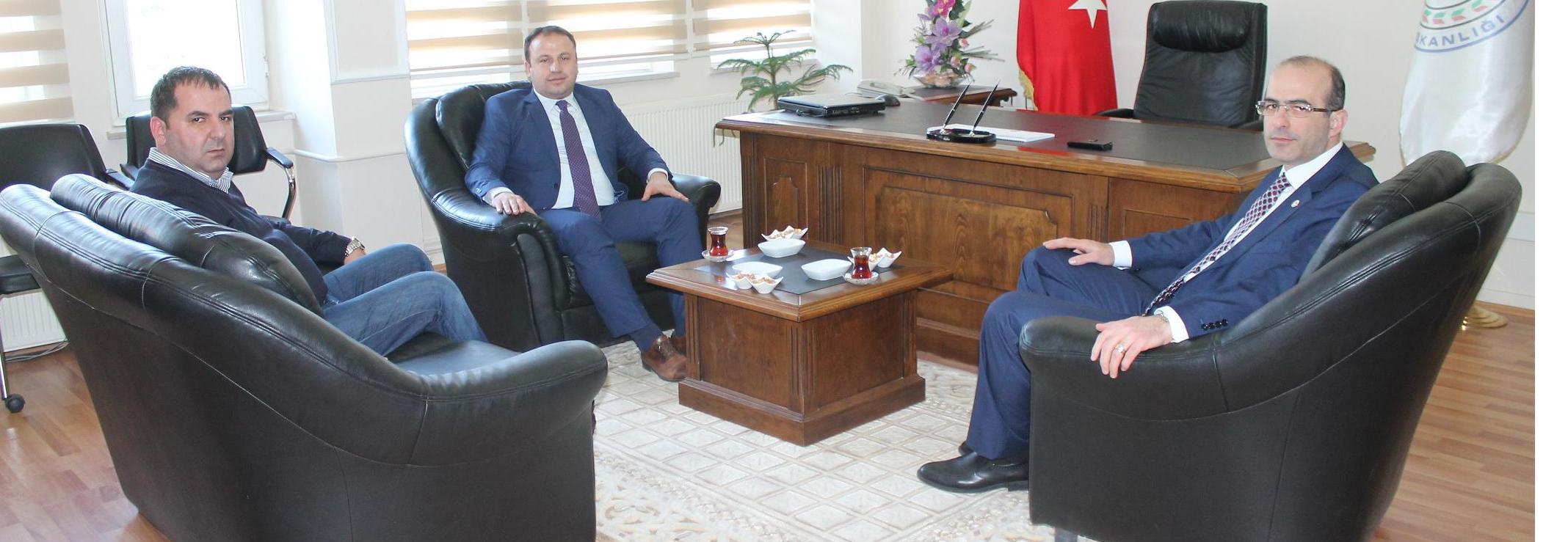 Erbaa Belediye Başkanı Hüseyin YILDIRIM' dan Baromuza Ziyaret