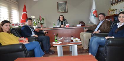 Ak Parti Kırıkkale Milletvekili Aday Adayı Av. Erhan ERDAL Baromuzu Ziyaret Etti