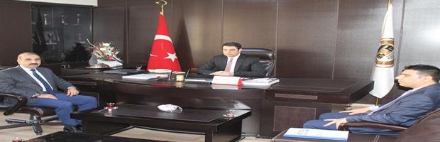 AFAD İl Müdürü Fevzi Bakır ve Şube Müdürü Abdulmecit Önder baromuzu ziyaret etti.
