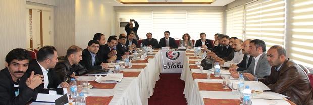 Doğu ve Güneydoğu Anadolu Bölge Baro Başkanları toplantısı Basın Bildirisi