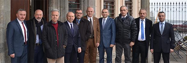 Trabzonspor Divan Kurul Üyelerinin Baromuzu Ziyareti