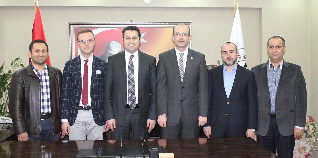 Tokat Belediye Başkanı Avukat Eyüp EROĞLU ve Belediye Başkanı Vekili Avukat Abdullah KARATAŞ' tan Baromuza Ziyaret