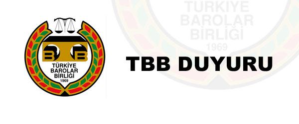 TBB DUYURU NO : 2015/23