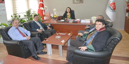 Ak Parti Kırıkkale Milletvekili Aday Adayı Av. Ayhan YILMAZ Baromuzu Ziyaret Etti