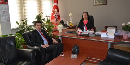 Vakıfbank Kırıkkale Şubesi Müdürü Hüseyin ŞAHİN Baromuzu Ziyaret Etti