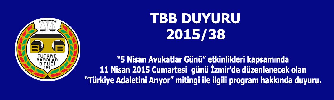 Türkiye Adaletini Arıyor Miting Duyurusu