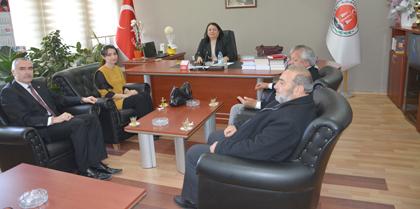 Saadet Partisi Kırıkkale Milletvekili Adayları Faruk UYGUN, Emine KÖKSAL ve Ramazan GÖZALAN Baromuzu Ziyaret Etti