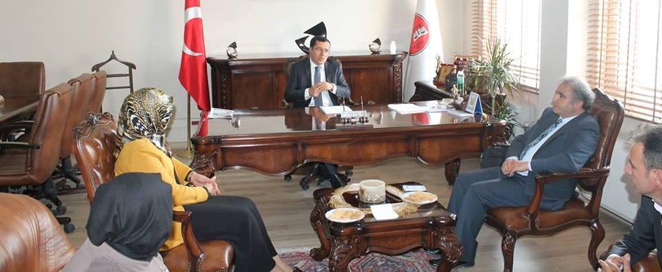 HDP Milletvekili Adayları Baromuzu ziyaret ettiler.