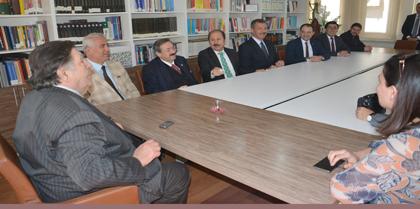 Ak Parti Kırıkkale Milletvekili Adayları Oğuz Kağan KÖKSAL, Ramazan CAN, Abdullah ÖZTÜRK Baromuzu Ziyaret Etti