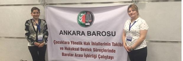 Ankara Barosu'nun 18-19 Nisan 2015 tarihinde düzenlediği Barolar Arası İşbirliği Çalıştayı