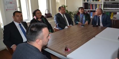 Milliyetçi Hareket Partisi Kırıkkale Milletvekili Adayları Seyit Ahmet GÖÇER ve Halil ÖZTÜRK Baromuzu Ziyaret Etti