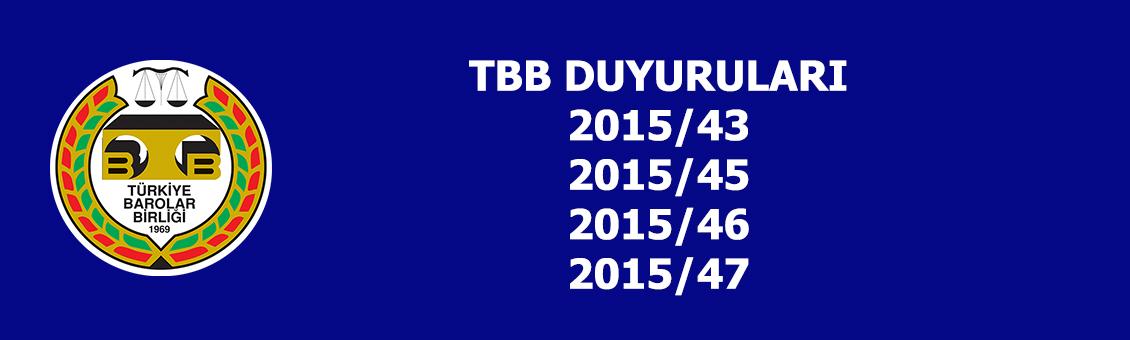 TBB DUYURULARI