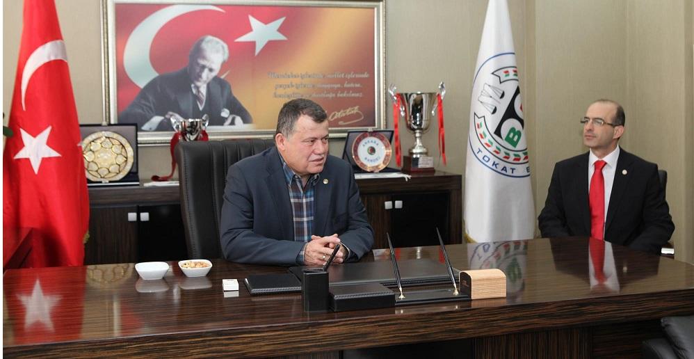 Yargıtay Başkanı İsmail Rüştü CİRİT' den Baromuza Ziyaret.