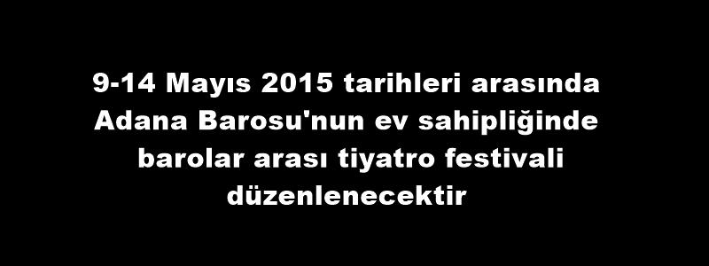 BAROLAR ARASI TİYATRO FESTİVALİ