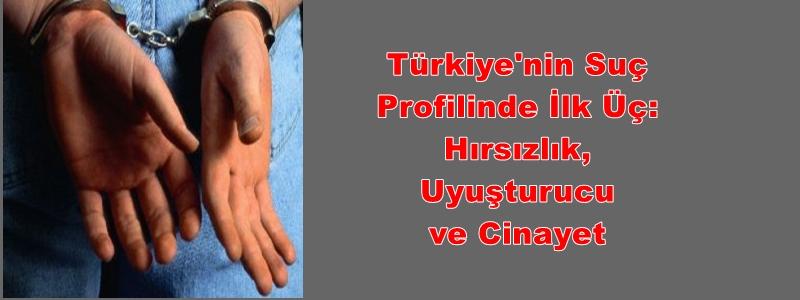 Türkiye'nin Suç Profilinde İlk Üç: Hırsızlık, Uyuşturucu ve Cinayet