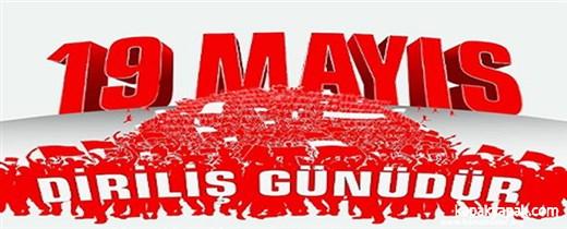 """KAZAN """"19 MAYIS ÜMİDİN VE MÜCADELENİN BAŞLANGICIDIR"""""""