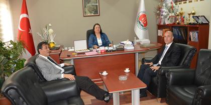 Gıda, Tarım, Hayvancılık İl Müdürü Recep KIRBAŞ Baromuz'u Ziyaret Etti