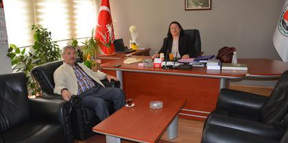 Hurdasan Emekli Müdürü Mehmet Tahir GÜRÜN Baromuzu Ziyaret Etti