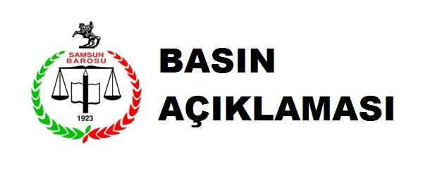 Türkiye Barolar Birliği'nin ve Tüm Baro Başkanlarının 06.06.2015 Tarihli Ortak Basın Açıklaması