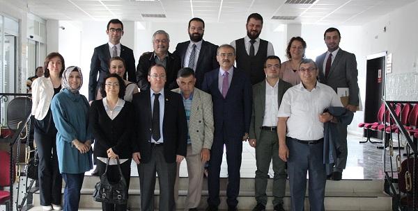 Samsun Barosu Yönetim Kurulunun Bafra Ziyaretleri