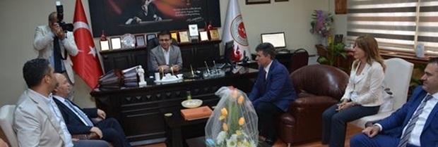 TBB Başkanı Prof. Dr. Metin FEYZİOĞLU ve beraberindeki heyet Kırklareli Cumhuriyet Başsavcımızı makamında ziyaret etti.