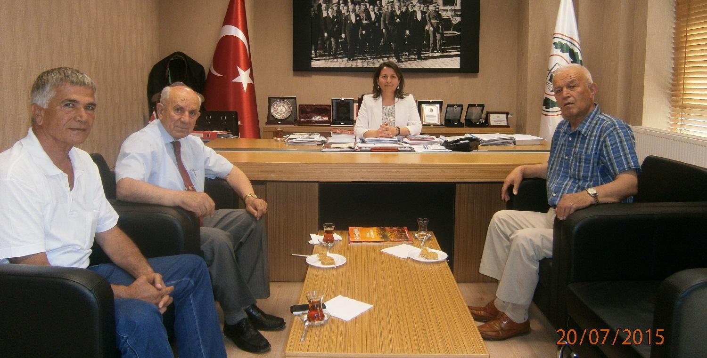 Mustafa Bumin Ziyareti