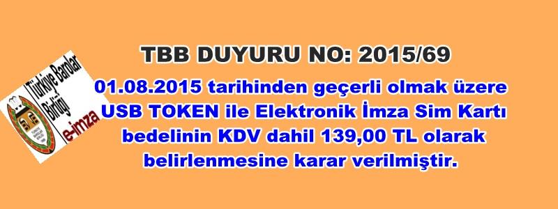 TBB DUYURU NO: 2015/69