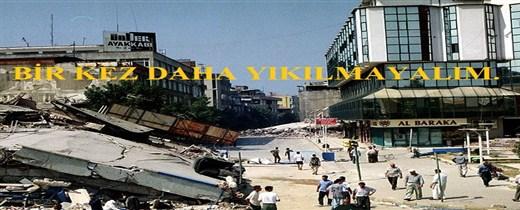 BARO BAŞKANIMIZ AV.ZAFER KAZAN'IN 17 AĞUSTOS DEPREMİ YIL DÖNÜMÜ MESAJI