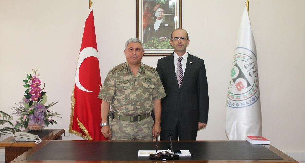Jandarma Bölge ve Garnizon Komutanı Tuğgeneral Adnan ARSLAN' dan Baromuza Ziyaret
