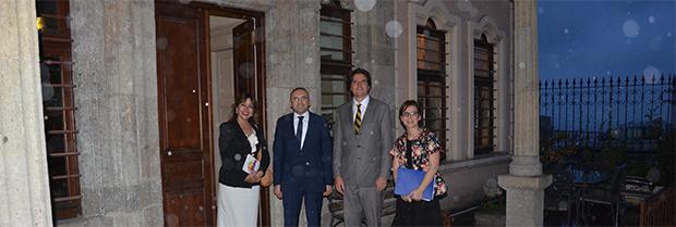 Avrupa Birliği Delegasyonu Müsteşarının Ziyareti