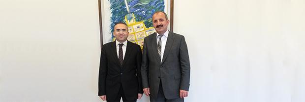 Prof. Dr. Yusuf Şevki HAKYEMEZ'i Ziyaret