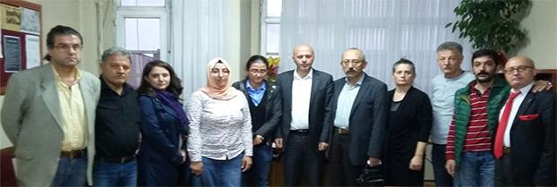 İnsan Hakları Merkezimizin Taziye Ziyareti