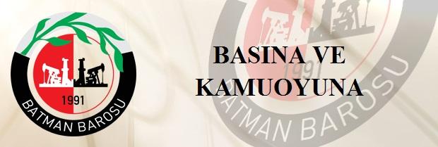 BATMAN BAROSU SEÇİMİ İZLEYECEK
