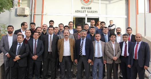 Bölge Baro Başkanları Silvan'da
