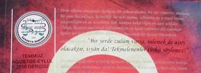 SAKARYA BAROSU DERGİSİNİN 3.SAYISI ÇIKTI