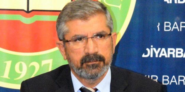 D.Bakır Baro Başkanı Av.Tahir ELÇİ Silahlı Saldırı Sonucu Yaşamını Yitirmiştir