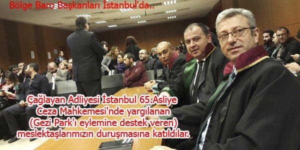 Bölge Baro Başkanları İstanbul'da