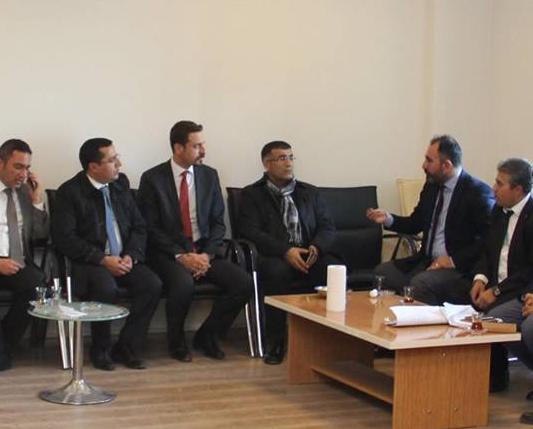 Baro Başkanımız Av. Feridun Taş ve Bölge baro başkanları Cizre ve Silopi de