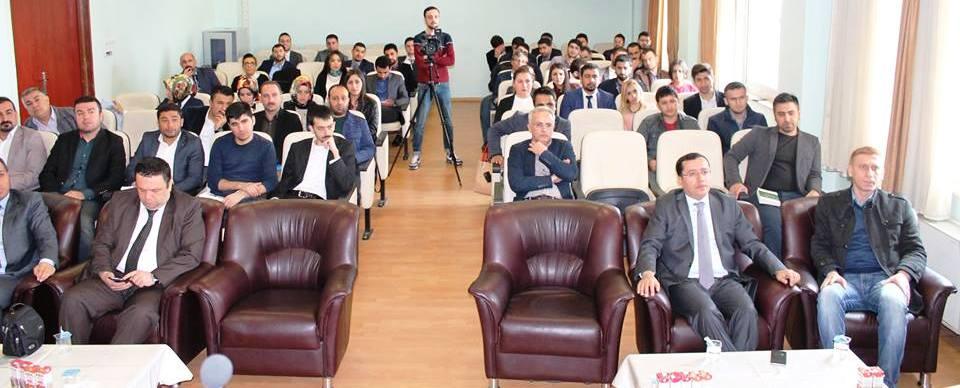 icra Avukatı Talih UYAR baromuzun davetlisi olarak Siirt te geldi.